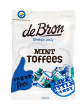 De Bron Sugar Free Mint Toffees 90g